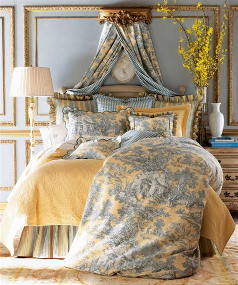 toile bedding set lutece cypress toile linens
