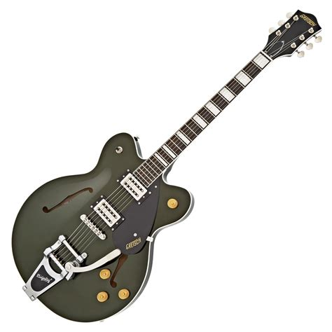 Gretsch G2622t With Bigsby gretsch g2622t streamliner center block with bigsby torino green at gear4music ie