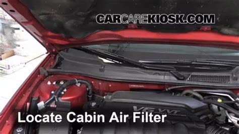 2006 2016 chevrolet impala cabin air filter check 2013