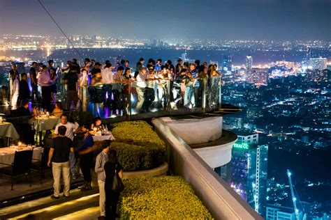bangkok top bars the 5 best rooftop bars in bangkok thailand no destinations