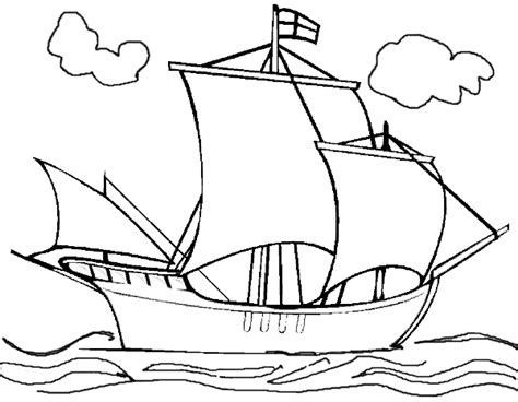 Christopher Columbus Coloring Pages Printable free coloring pages of christopher columbus printable