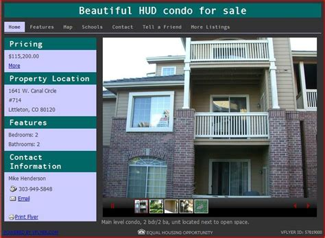 beautiful hud condo for sale