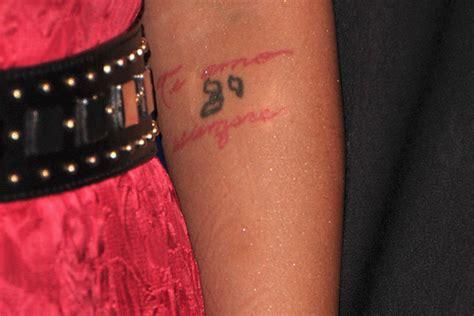 christina aguilera tattoos it s aguilera s