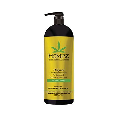 shoo and conditioner for color treated hair hempz original herbal conditioner for damaged and color