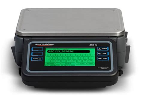 zk830 high resolution digital counting scale avery weigh tronix zk840 fully programmable counting scale avery weigh tronix