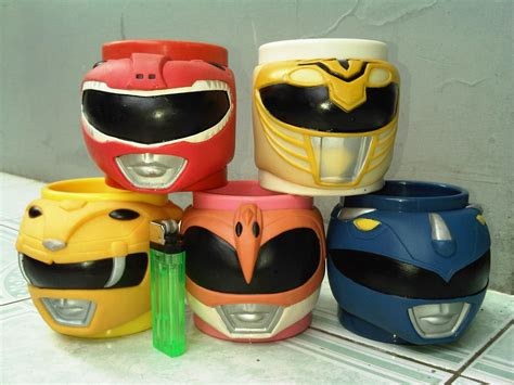 jual mainan figure power ranger the seri mug set isi 5 mainan toys bandung