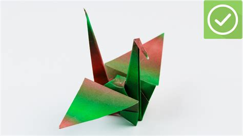 Fold Paper Crane - how to fold a paper crane with pictures wikihow