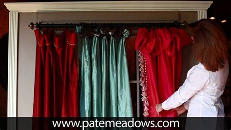 drapery seamstress curtain panel sewing patterns youtube