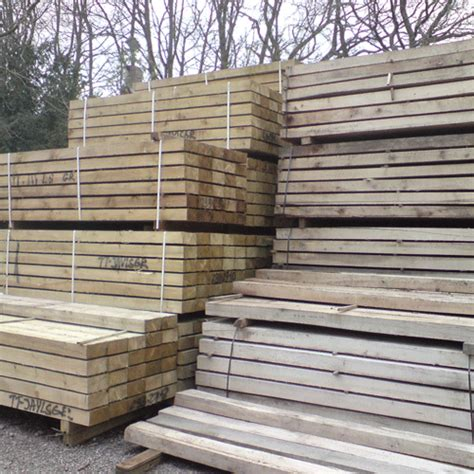 Railway Sleepers Hertfordshire by Cfs For Timber Decking Railway Sleepers Buckinghamshire
