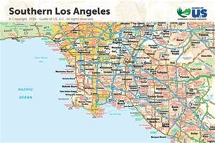 image gallery los angeles map pdf