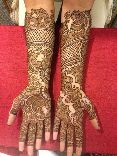 latest mehndi designs for dulhan hands legs arm photos