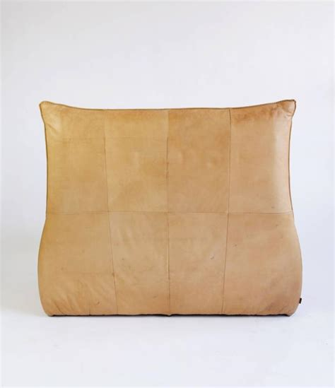 rock sofa leather two seat quot rock quot sofa by gerard van den berg for