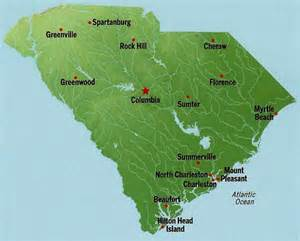 South Carolina State Map by South Carolina State Fair Gnewsinfo Com