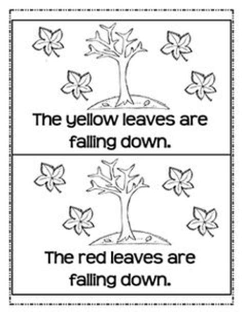 printable book about leaves fun with compound words freebie