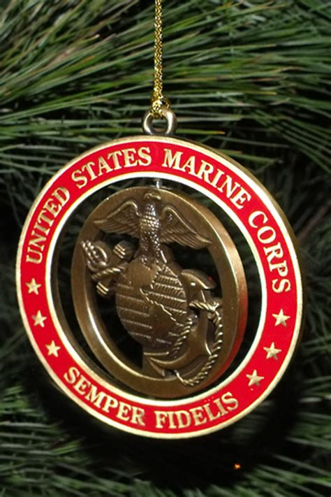 Naval Services Decoration by Day 28 365 Marine Corps Ornament 3 Quarters Today