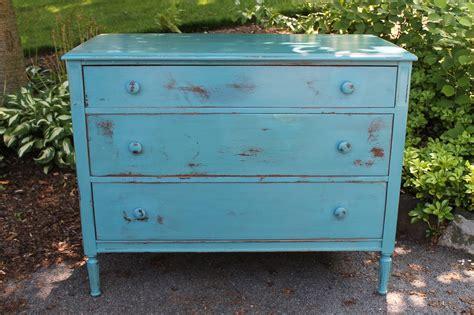 elizabeth co distressed milk paint dresser