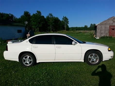 how to sell used cars 2005 chevrolet impala auto manual sell used white 2005 chevy impala ls only 47 097 miles in gulliver michigan united