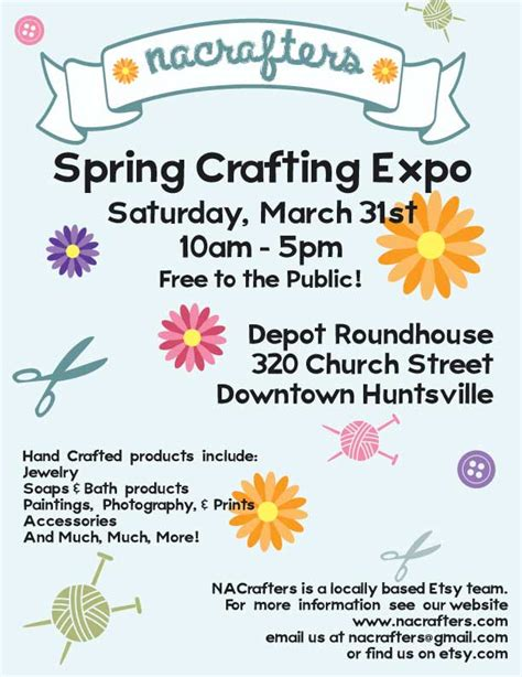 north alabama crafters spring craft show march 31 2012