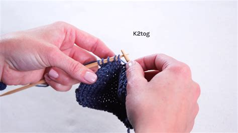 knitting knit 2 together how to knit two together knitting techniques on craftsy