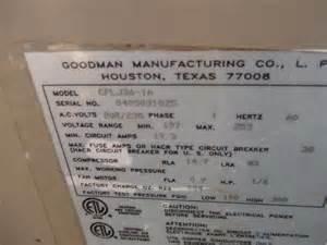 goodman heat pump or ac internachi inspection forum