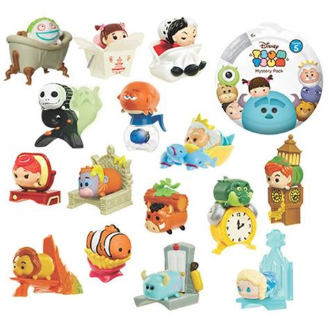 Mickey Mouse Blind Pack disney tsum tsum blind pack mini figures wave 5