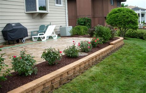 landscaping ideas around patio real deal drainage solutions portfolio
