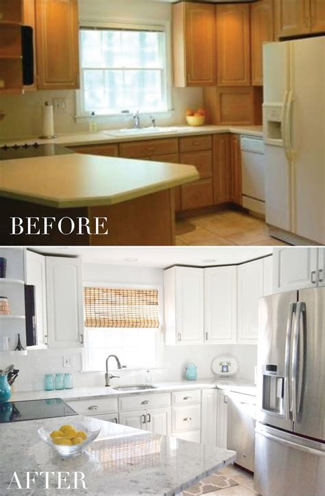 kitchen cabinet transformation 25 best ideas about cabinet transformations on pinterest