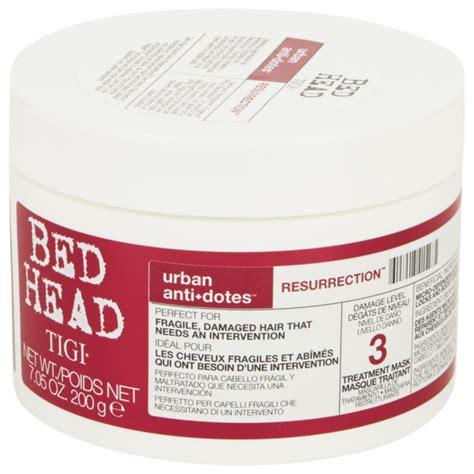 bed head urban dictionary tigi bed head urban antidotes resurrection treatment mask