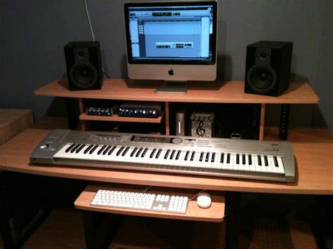 Diy Home Recording Studio Google Search Home Studio Recording Studio Computer Desk