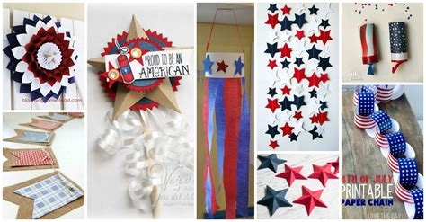 4th of july crafts for diy patriotic 4th of july paper crafts for a proud celebration