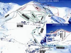 el colorado trail map el colorado skiing chile