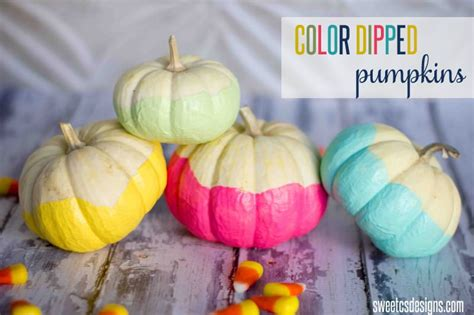 what color are pumpkins 10 colorful ways to deocrate a pumpkin