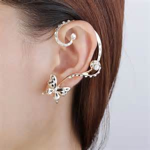 ear cuff jewelry fashion gold butterfly ear wrap earring new stud ear cuff earrings set ebay
