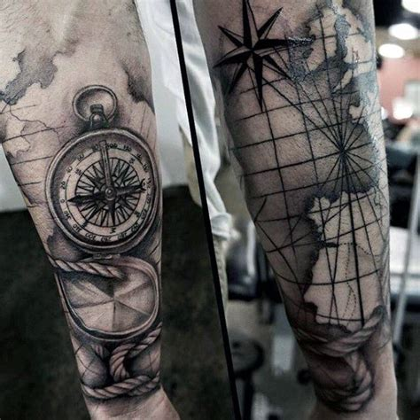 tattoo compass pinterest men s square and compass tattoo idee pinterest