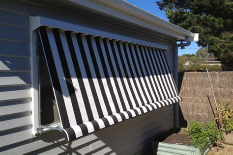 Outdoor Fabric Awnings by Outdoor Canvas Awning