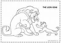 DESENE DE COLORAT Cu LION KING  Planse Fise Imagini De Colorat