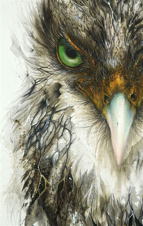 Splattered Ink Animal Paintings By Hua Tunan 15 Photos 171 Twistedsifter Animal Painting For
