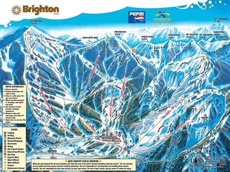 solitude trail map brighton resort ski resort guide location map brighton
