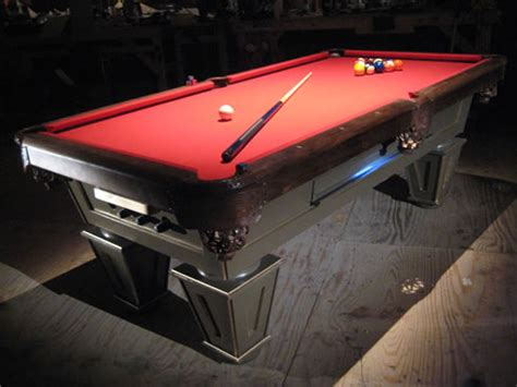 diy build your own bumper pool table plans free