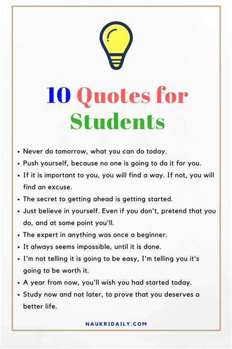 Quotes For Students Quotes For Students Cool Best 25 Motivational Quotes For