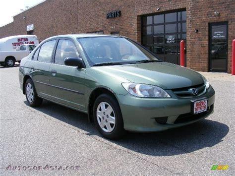 honda green 2004 honda civic value package sedan in galapagos green
