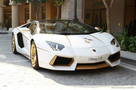 lamborghini gold and white white gold lamborghini