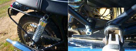 Triumph Bonneville T100 Luggage Rack by Triumph Bonneville Side Luggage Racks T100 Thruxton Ebay