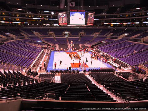 staples center section 208 section 208 seat view at staples center rateyourseats com