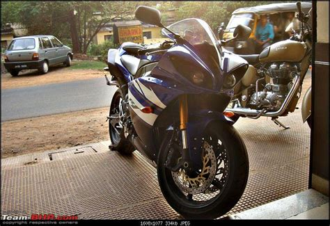 superbikes spotted  india page  team bhp