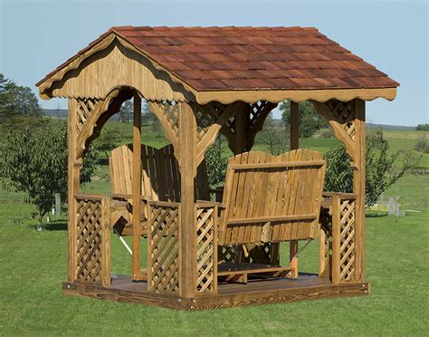 gazebo swing set 25 unique gazebos with swings pixelmari com