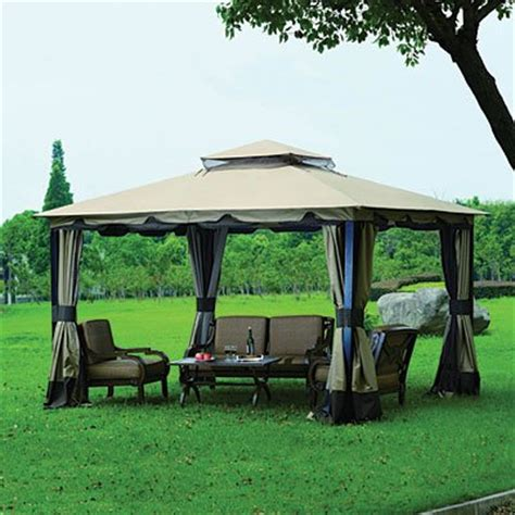 Wilson And Fisher Gazebo 9 Gt Best Price Wilson Fisher Outdoor Gazebo Monterey 10