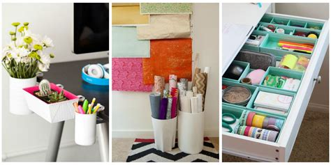 organise or organize ways to organize your home office desk organization hacks