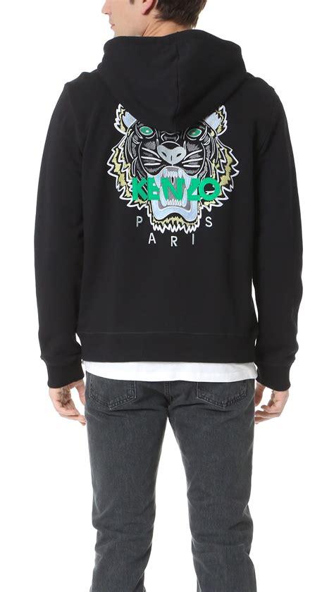 Tiger Hoodie lyst kenzo tiger hoodie in black for