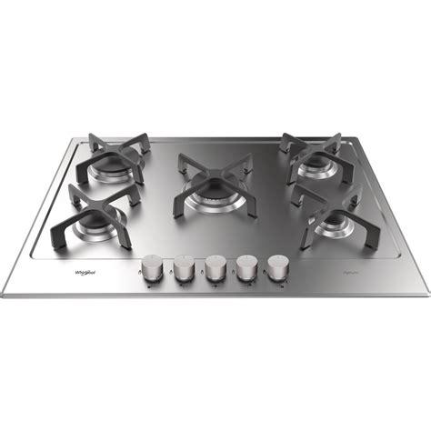 piano cottura whirpool piano cottura a gas whirlpool 5 fuochi gma 7514 ixl